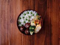 1/23(月)甘酢肉団子と豆ご飯弁当 - おひとりさまの食卓plus