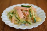 小皿つまみ*春雨サラダ - 小皿ひとさら