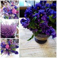 春の紫 - [花灯-hanabi-] 栃木県宇都宮市の花屋です