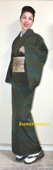 今日の着物コーディネート♪(2017.1.23)~紬着物&洒落袋帯編~(ファッション・ビューティ部門) - 着物、ときどきチロ美&チャ美。。。リサイクル着物ハタノシイナ♪