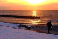 海辺の帰り道 - デジタルで見ていた風景