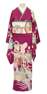 アンティークのお好きな方におすすめ、昭和初期のエレガンス訪問着 - それいゆのおしゃれ着物レンタル