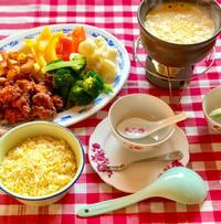 粟米忌廉汁芝士火鍋 (コーンクリームとチーズのフォンデュ) - れしぴこ的 無駄なあがきっ!