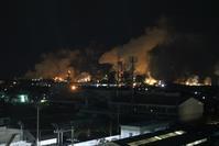 藤田八束の工場夜景写真@工場の夜景を石巻で撮影、日本製紙の夜景が素晴らしい - 藤田八束の日記