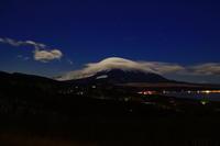 29年1月の富士(24)笠雲と紅富(写真部門) - 富士への散歩道 ~撮影記~