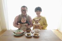 お食い初めの家族写真(写真部門) - 家族の風景