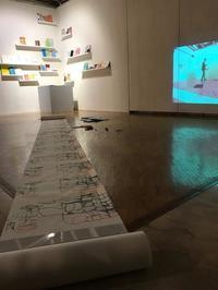 自閉症を持つ松田春輝くんのカレンダー展 お客さんの感想 - ハローハロー、こちら 即興楽団UDje( ) ブログです。