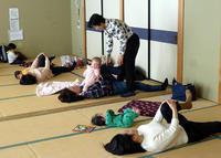 1月13日 骨盤体操教室を開催しました - 子育てサークル たんぽぽの会