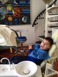 初めての歯科検診@5歳3ヶ月 - ボローニャとシチリアのあいだで2