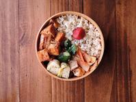 1/24(火)厚揚げのピリ辛和え弁当 - おひとりさまの食卓plus
