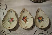 手描き貝の小皿3枚セット      sold out! - スペイン・バルセロナ・アンティーク gyu's shop