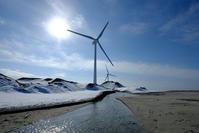 風車のある風景 - デジタルで見ていた風景