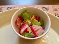 もものすけサラダと菊芋・じゃこの古代米御飯 - パン教室  ローズのマリ