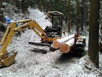 積雪 - 自伐型林業 施業日記