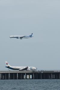 HND - 41 - fun time (飛行機と空)