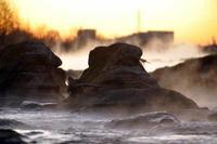 多摩川の川霧 - 萩原義弘のすかぶら写真日記