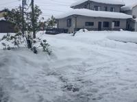 教室周辺の雪の状況 - 加藤ピアノ教室(鳥取県倉吉市・日南町)   ~教室のこと・ピアノ教師の日々