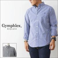 Gymphlex [ジムフレックス] GINGHAM CHECK LS SHIRTS [J-0643GSC] MEN'S - refalt   ...   kamp temps