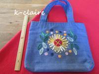 母の手づくり刺繍のバッグ(ハンドメイド・雑貨DIY部門) - つくること