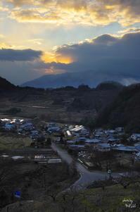 明日香上居 静かに暮れる - ぶらり記録(写真) 奈良・大阪・・・