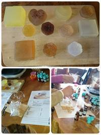 1dayアロマ教室  「オーガニック精油で作るMPソープ」 - のんびりいこう