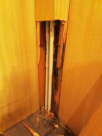 暖房の管の水漏れ - gyuのバルセロナ便り  Letter from Barcelona