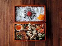 1/25(水)ささみの塩焼き弁当 - おひとりさまの食卓plus