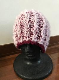 縁飾り編み&おさげ風丸帽子 - 良いことみ~っけた♪
