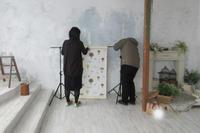 手芸(ハンドメイド)本が出版されるまで~No21 撮影3日目~ - ビーズ・フェルト刺繍作家PieniSieniのブログ
