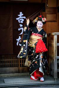 新年の挨拶回り(祇園甲部)(写真部門) - 花景色-K.W.C. PhotoBlog