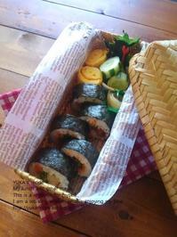 1.25 巻き巻きでのり切る海苔巻弁当 - YUKA'sレシピ♪