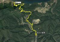 大坂峠往復ラン - 阿讃の山と谷