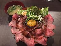 金沢(片町):肉BAR流 やまと(焼肉バール)「ローストビーフ丼ランチ」 - ふりむけばスカタン
