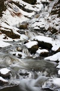 竜門峡の氷柱-7(最後) - 自然と仲良くなれたらいいな2