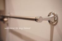 洗面台シンク下、扉裏にポールを付けました! - welcome to my home!