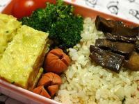 巻き寿司のお弁当 (Pranzo a sacco) - エミリアからの便り