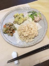 さつまいもサラダ - 庶民のショボい食卓