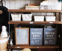 学習机横の収納棚* - yasumin's cafe*