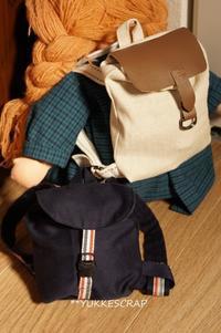 ウォルドルフ人形 〜デイパック&ハンドバッグ〜 【くらし部門】 - YUKKESCRAP