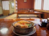 なべ焼きうどん(上):高砂(弘前市) - 津軽ジェンヌのcafe日記