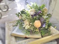 コーディネイトクラス.ブーケレッスン - *kiko's  diary* 京都でプリザやリースなどの花雑貨とお庭のお店[Breath Garden]をしています!