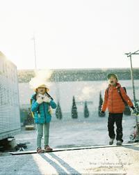 寒い朝も雪が降れば*  (写真部門) - ココロハレ*