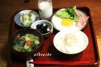 義母の朝食             (くらし部門) - 今が一番