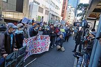MX「ニュース女子」抗議行動3 - ムキンポの exblog.jp
