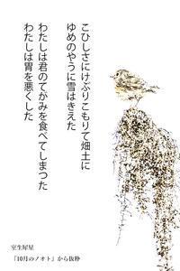 抒情小曲集(犀星) - たなぼた