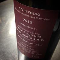 サンタマリア/オルチアロッソ 2013 - 日報。(ゴッチャポントのワインたちの日常)