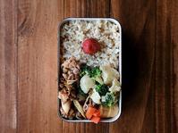 1/27(金)豚高菜弁当 - おひとりさまの食卓plus