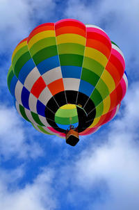 琵琶湖高島市の熱気球 - 写真の散歩道