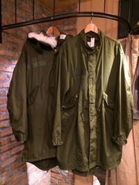 70's U.S. army M-65 fish tail parka - BUTTON UP clothing