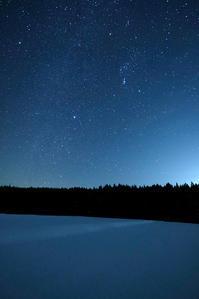 冬の銀河 - デジタルで見ていた風景